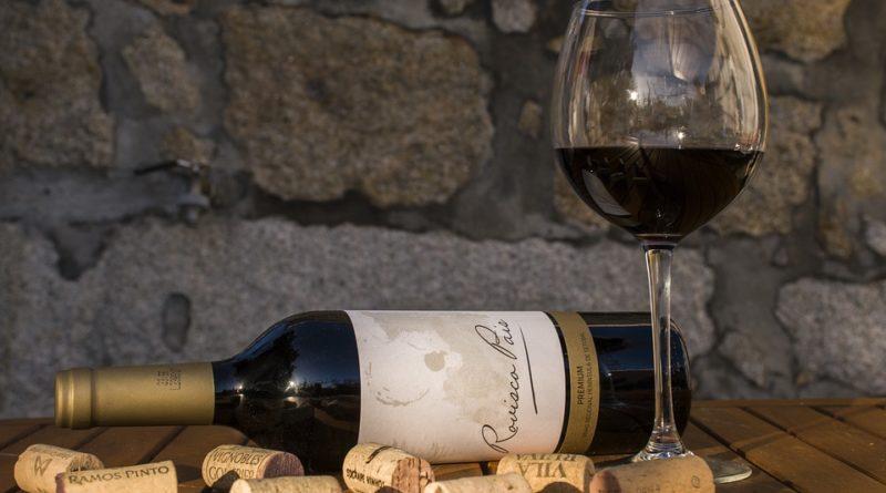 bouchon d'une bouteille de vin
